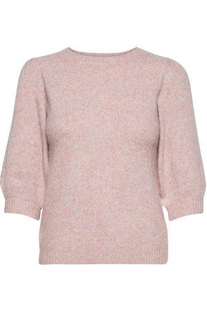 Envii Ensoya Ss Knit 5231 Neulepaita Vaaleanpunainen