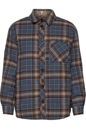Object Objbanja Shirt Jacket Kesätakki Ohut Takki Harmaa