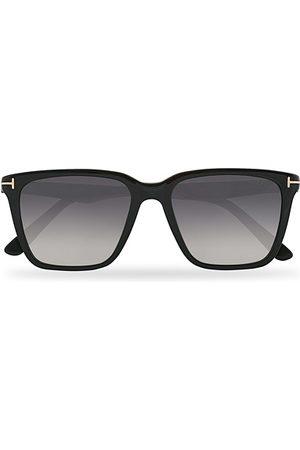 Tom Ford Garrett Sunglasses Shiny Black/Gradient Smoke
