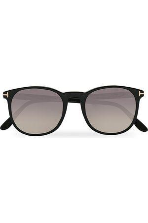 Tom Ford Ansel Sunglasses Shiny Black/Smoke Mirror
