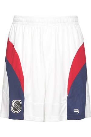 Balenciaga Logo Hockey Tech Jersey Shorts