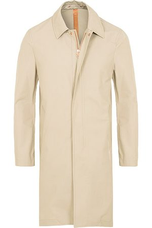 PRIVATE WHITE V.C. Unlined Cotton Ventile Mac Coat 3.0 Stone