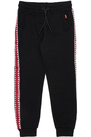 Sprayground Pojat Collegehousut - Cotton Sweatpants W/ Side Bands