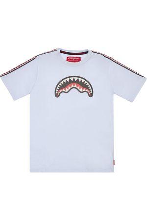 Sprayground Printed Cotton Jersey T-shirt W/ Bands