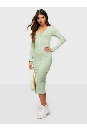 NLY Trend Naiset Mekot - Off Duty Button Dress
