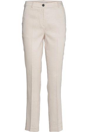 Tommy Hilfiger Naiset Kapeat - Stretch Linen Slim Pant Slimfit Housut Pillihousut