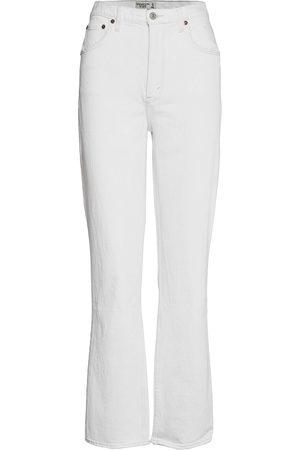 Abercrombie & Fitch Naiset Leveälahkeiset - Anf Womens Jeans Leveälahkeiset Farkut