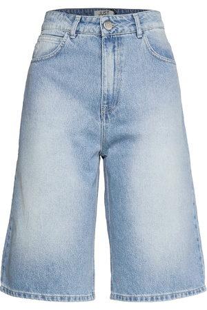 Just Female Bay Bermuda 0101 Shorts Denim Shorts Sininen