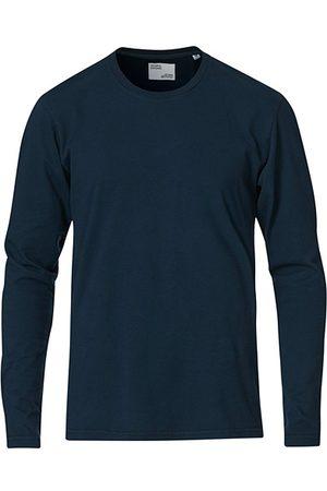 Colorful Standard Classic Organic Long Sleeve T-shirt Navy Blue