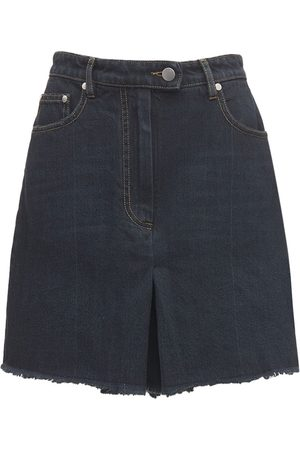 Peter Do Tailored Cotton Denim Shorts