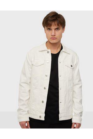 SELECTED Slhjeppe 4040 White St Denim Jacket Takit White Denim