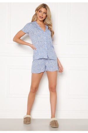 Trendyol Naiset Pyjamat - Shirt Short Pyjama Set Multi Color 36