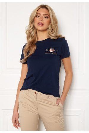 GANT Archive Shield SS T- Shirt 433 Evening Blue M