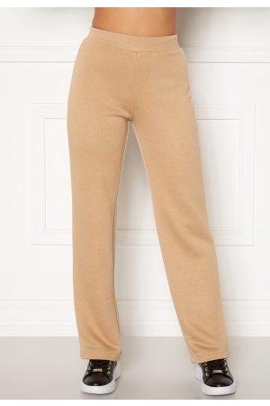 Happy Holly Naiset Leveälahkeiset - Jade soft pants Light 48/50
