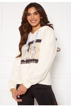 KENDALL + KYLIE K&K Active Photo Hoodie White XL