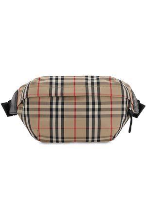 Burberry Check Cotton Blend Sonny Belt Bag