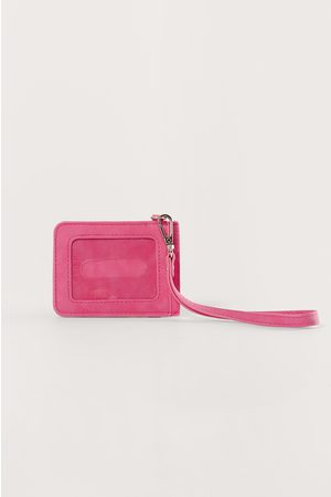 NA-KD Basic Luggage Tag - Pink