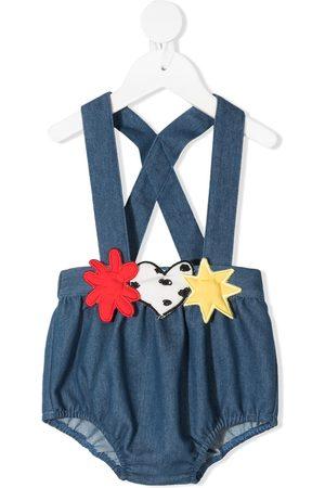 RASPBERRY PLUM Shortsit - Moon brace-strap shorts