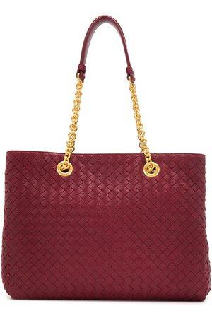 Bottega Veneta Naiset Ostoskassit - Intrecciato chain strap tote bag