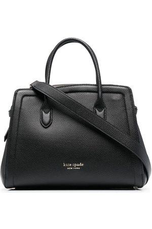 Kate Spade Naiset Ostoskassit - Knott leather tote bag