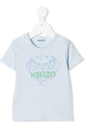 Kenzo T-paidat - Elephant logo-print T-shirt