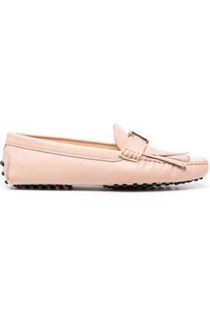 Tod's Naiset Loaferit - Gommino fringed loafers
