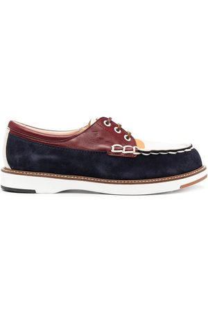 Tod's Naiset Loaferit - Colour-block lace-up shoes