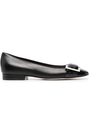 Sergio Rossi SR Prince buckled ballerina shoes