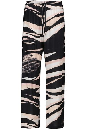 Max Mara Egeria printed drawstring pants
