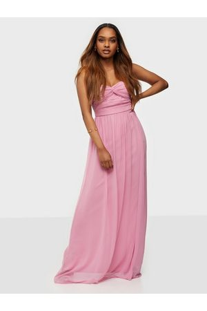NLY Eve Naiset Juhlamekot - Dreamy Bustier Gown Rose