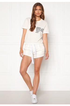 KENDALL + KYLIE K&K Active Turn Me On Shorts White L