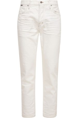Tom Ford Tapered Fit Comfort Denim Pants