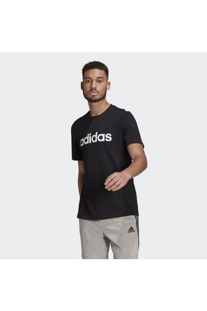 adidas Miehet T-paidat - Essentials Embroidered Linear Logo Tee