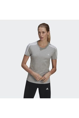 adidas LOUNGEWEAR Essentials Slim 3-Stripes Tee