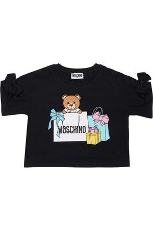 Moschino Tytöt T-paidat - Toy Print Cotton Jersey T-shirt