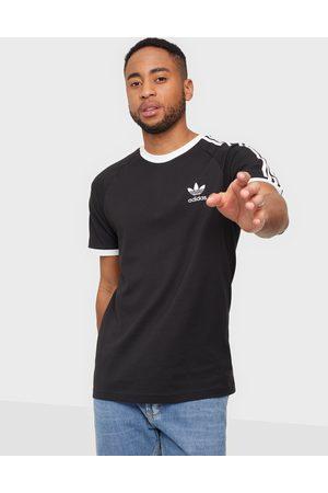 adidas Miehet T-paidat - 3-Stripes Tee T-paidat ja topit Black