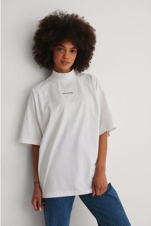Calvin Klein Naiset Paidat - Orgaaninen T-paita - White