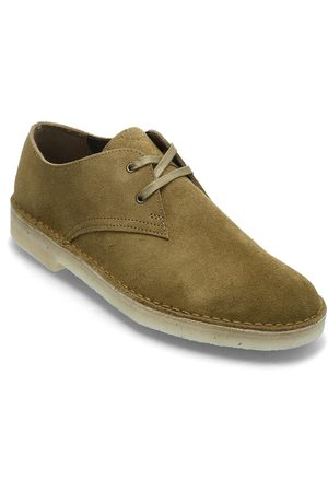 Clarks Desert Khan Shoes Business Laced Shoes