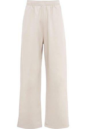 Balenciaga Miehet Collegehousut - Baggy Cotton Jersey Sweatpants