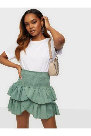 Neo Noir Naiset Minihameet - Carin Skirt Green
