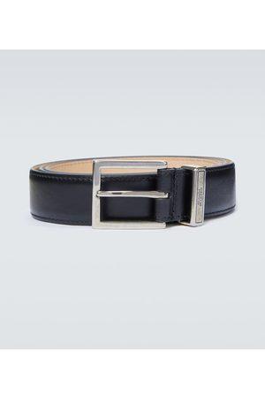 Alexander McQueen Identity leather belt