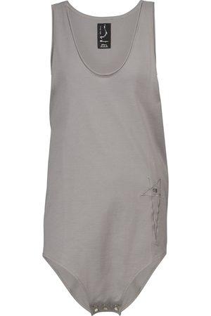 Rick Owens X Champion® cotton jersey bodysuit