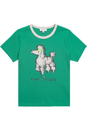 The Marc Jacobs Sequined cotton T-shirt