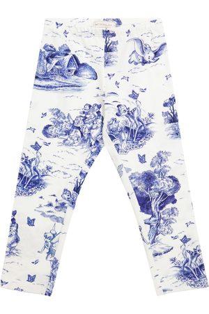 MONNALISA X Disney® printed stretch-cotton leggings