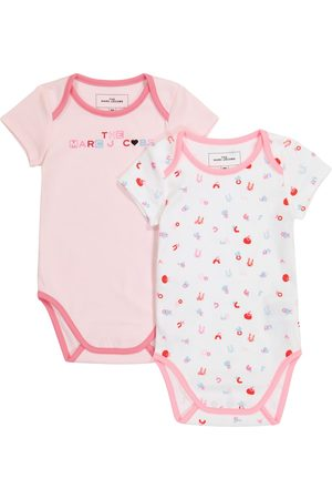 The Marc Jacobs Baby set of 2 cotton bodysuits
