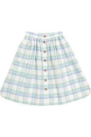 MORLEY Lea Concord checked cotton skirt