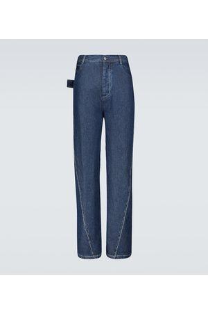 Bottega Veneta Wide-leg stonewashed jeans