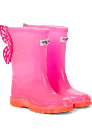 SOPHIA WEBSTER Butterfly rubber rain boots