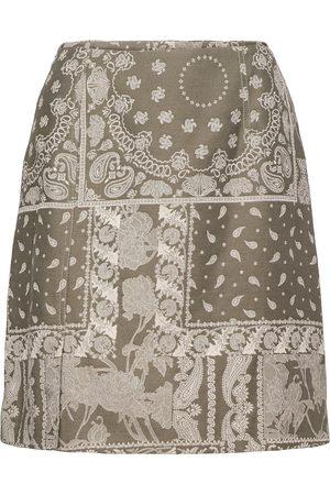 Holzweiler Belle Brocade Skirt Lyhyt Hame