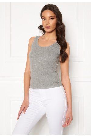 KENDALL + KYLIE K&K Basic Sleeveless Top Grey L